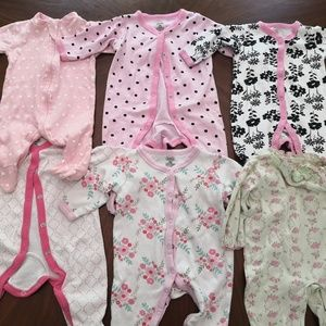 Other - 0-6 month pajama Bundle